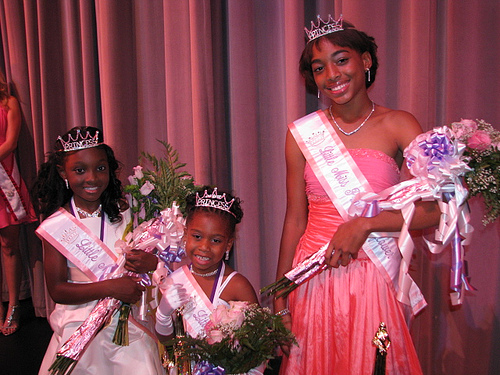 Winners of the Little Miss Princess Pageant 2009
