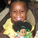 African American Doll with Natural Hair