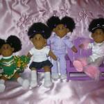Pretty Puff Dolls Group